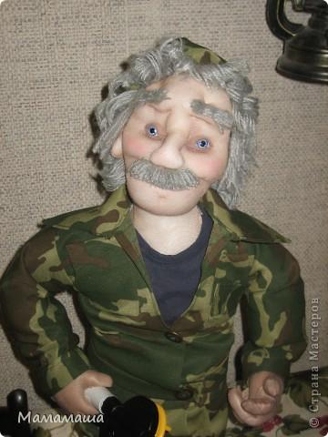 У моего бывшего директора юбилей. Решила попробовать сделать портретную куклу фото 6