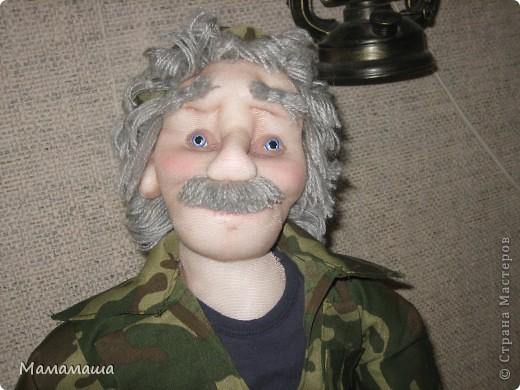 У моего бывшего директора юбилей. Решила попробовать сделать портретную куклу фото 7