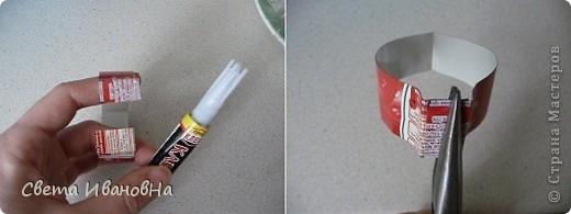 Берем консервную банку (у меня от томатной пасты), открывалкой делаем безопасный край (чтоб не порезаться), вырезаем дно. фото 7
