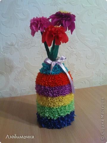 Вазочка с цветами фото 1