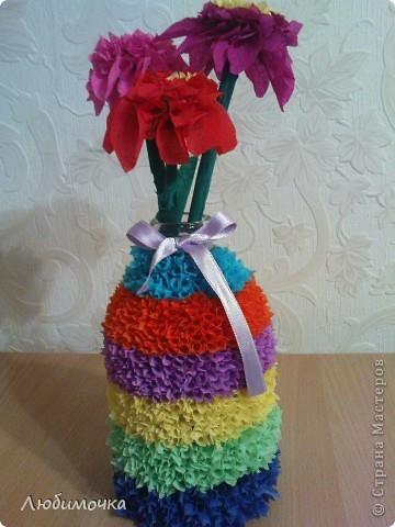 Вазочка с цветами фото 3