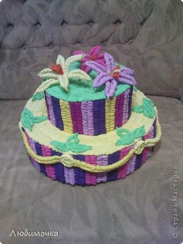 Вот и мой тортик! фото 4