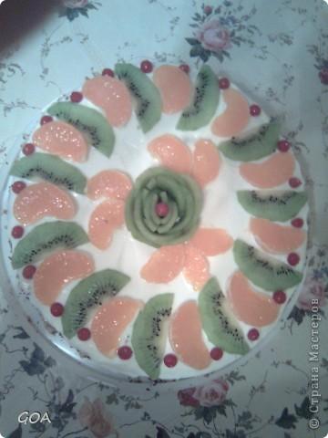 Мой вкусный тортик!!!