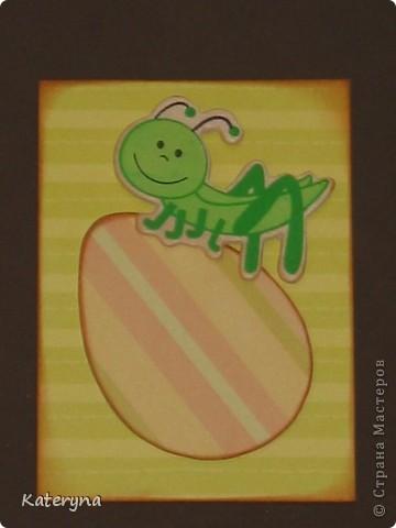 """Мои первые АТС. Серия из 7и карточек,""""Пасха"""". Почему бы и нет... фото 4"""