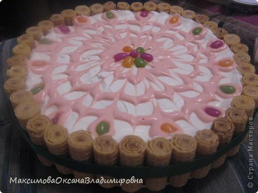 Этот тортик не требует выпечки