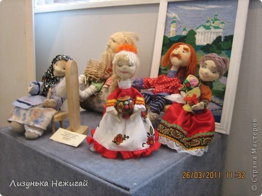в марте ходили на выставку кукол ручной работы фото 7