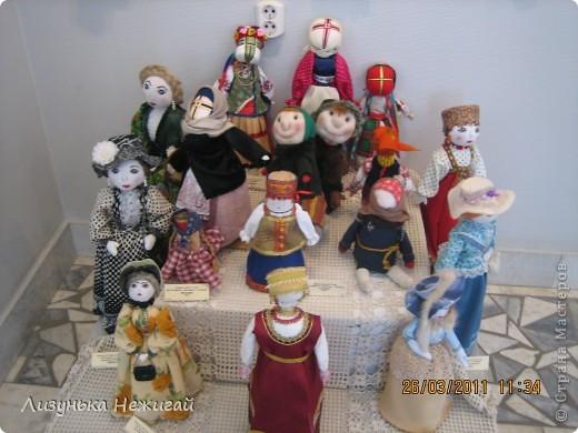 в марте ходили на выставку кукол ручной работы фото 9