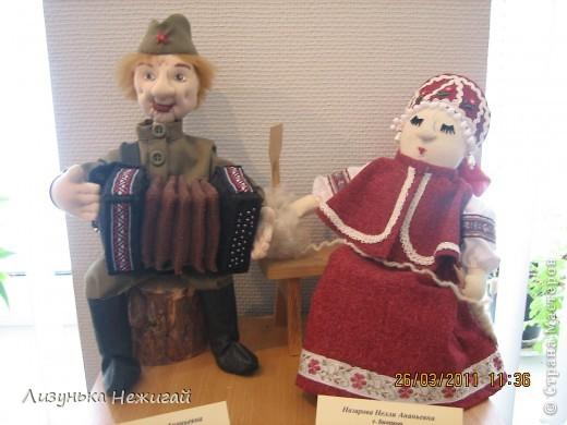 в марте ходили на выставку кукол ручной работы фото 15