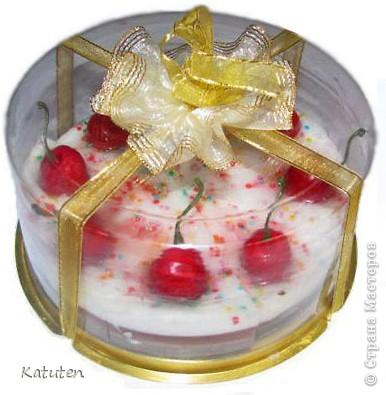 Торт Вишня со сливками фото 1