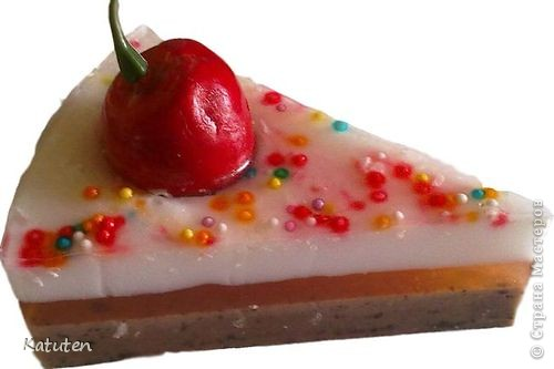Торт Вишня со сливками фото 2