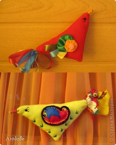 """Очень часто использую в своей работе книгу Галины Дайн """"Детский народный календарь"""". На этот раз я обратила внимание на тряпичных птичек. фото 2"""