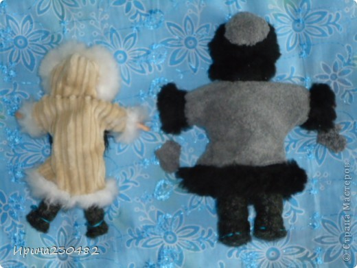 Чукчи (мужчина и женщина) фото 8