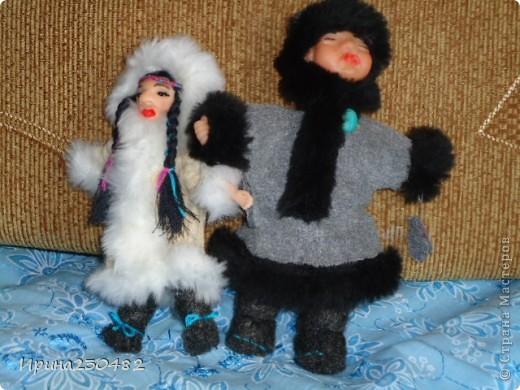 Чукчи (мужчина и женщина) фото 9