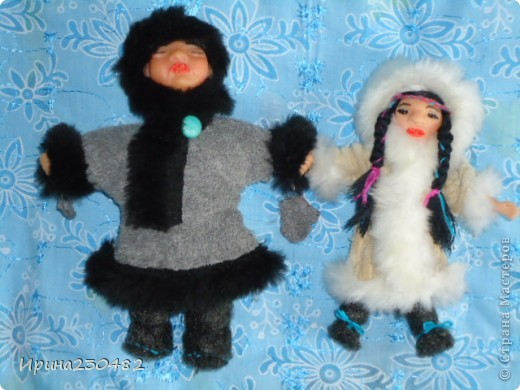 Чукчи (мужчина и женщина) фото 11