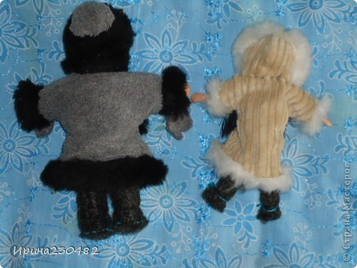 Чукчи (мужчина и женщина) фото 12