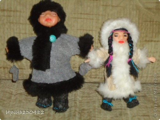 Чукчи (мужчина и женщина) фото 13