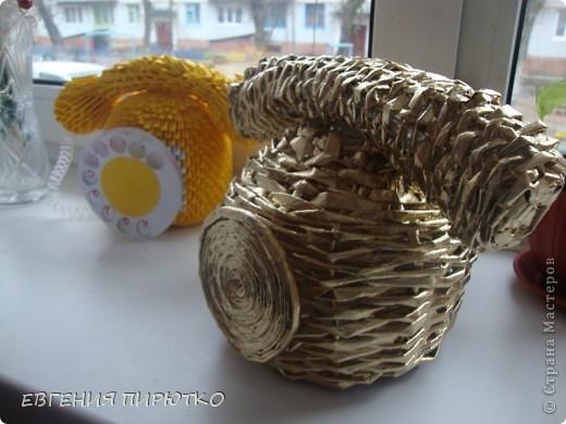 вот такой золотой телефон у меня получился фото 3
