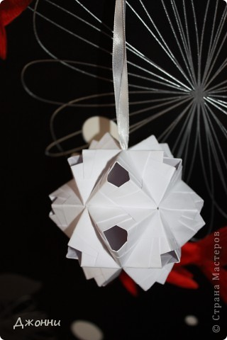 Дырявый сонобэ - обожаю эту кусудаму!!! Простой модуль и очень эффектно смотрится=) фото 7