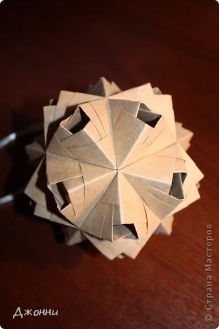 Дырявый сонобэ - обожаю эту кусудаму!!! Простой модуль и очень эффектно смотрится=) фото 4