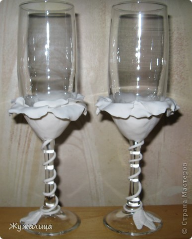 Вот такие бокалы получились у меня.  фото 6