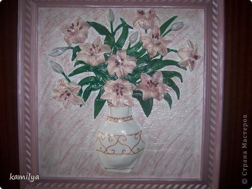вот такие получились лилии.размер 50-55. фото 1