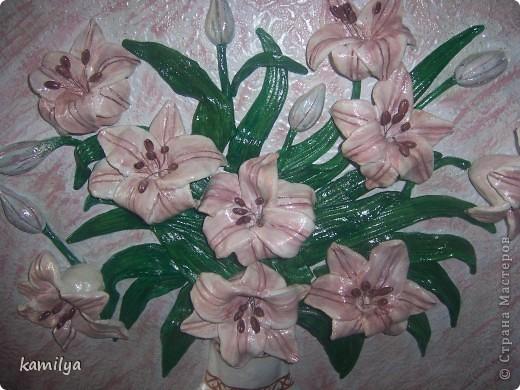 вот такие получились лилии.размер 50-55. фото 2