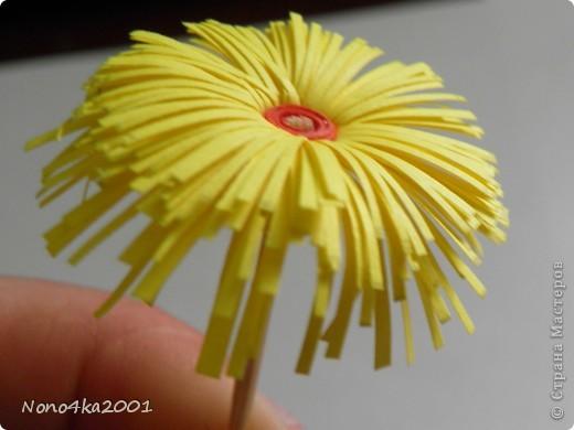Цветочек из бахромы фото 1