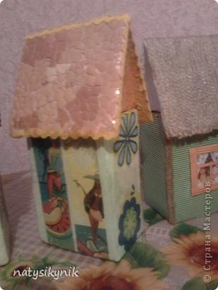 вот такие чайные домики мы соорудили в дни каникул. фото 2