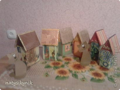 вот такие чайные домики мы соорудили в дни каникул. фото 3
