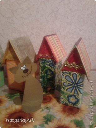 вот такие чайные домики мы соорудили в дни каникул. фото 1