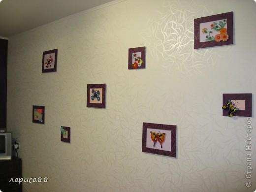 Еще рамки с цветами в технике квиллинг. фото 6