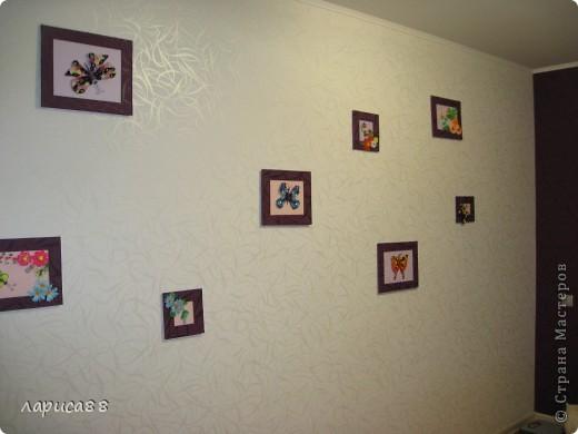 Еще рамки с цветами в технике квиллинг. фото 5