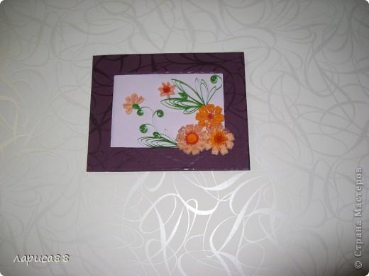 Еще рамки с цветами в технике квиллинг. фото 4