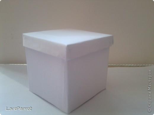 У меня было много картона и я решила сделать  вот такую весеннюю коробочку. фото 4