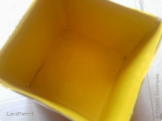 У меня было много картона и я решила сделать  вот такую весеннюю коробочку. фото 8