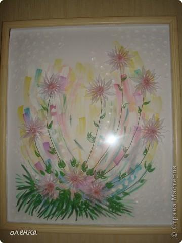Цветы (размер картины 50x60) фото 3