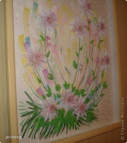 Цветы (размер картины 50x60) фото 2