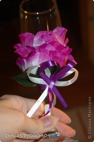 Бокал-цветок фото 1