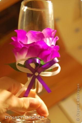 Бокал-цветок фото 2