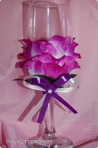 Бокал-цветок фото 3