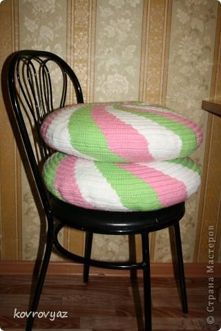 подушки вязаные фото 3