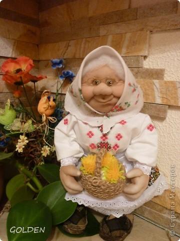 Бабка из капроновых колготок