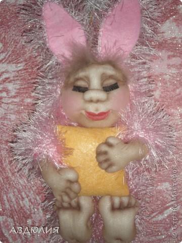 Очень понравился зайчик Юлии Григорян, вот решала сделать такую  пижамку Спюши ! фото 2