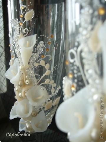 Девочка заказала под кремовое платье и чтоб обязательно каллы и обязательно прозрачные фото 3