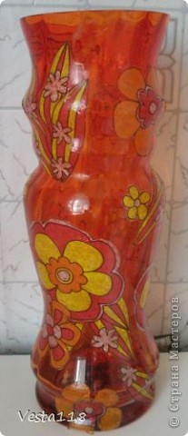 Старая вазочка