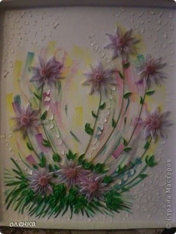 Цветы (размер картины 50x60) фото 1