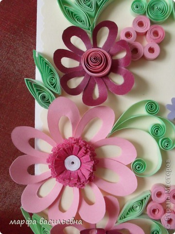 Захотелось придумать что-то новое,вот получились такие цветочки. фото 2