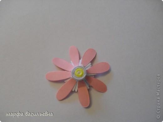Захотелось придумать что-то новое,вот получились такие цветочки. фото 11