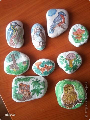 роспись камней фото 1