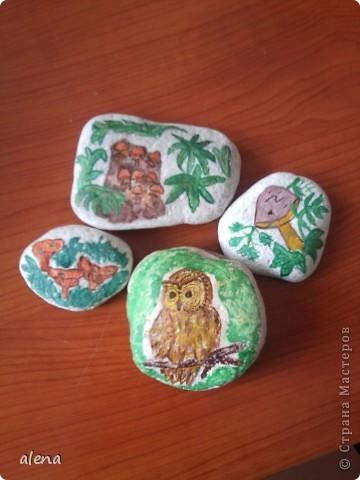 роспись камней фото 2